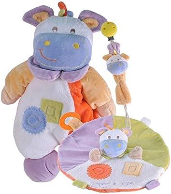Tris & Ton Pack regalo recién nacido peluche doudou cinta chupete ...