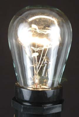 25 Pack S14 Outdoor Patio Party Replacement Bulbs, E26 Medium Base, 11 Watt