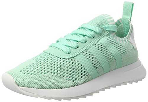Vert Sneakers Unique White Flashback footwear Green Taille Basses Femme Turquoise Primeknit easy Adidas easy Green wXp4EqU4