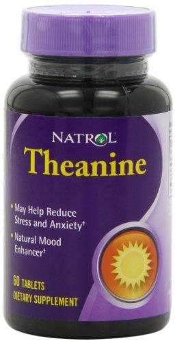 Teanina Natrol comprimidos, 60-Conde