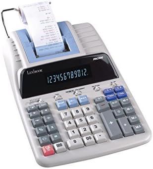 LEXiBOOK PRC720 Calculadora con impresión Profesional, Gris ...