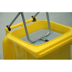 Azione – Tubo in acciaio – Contenitore ermetico – Pressa – Stabile per 120 litri di tonnellate – Prodotto Holly Stabilo… 41bsk8L22fL. SS300