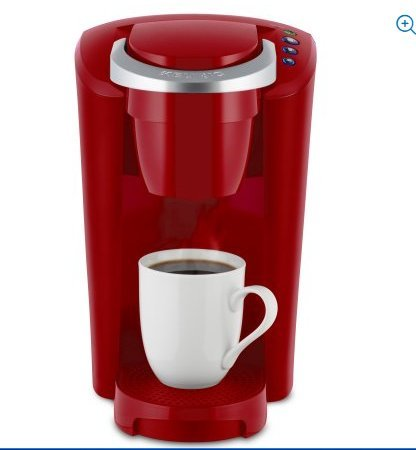Keurig K Compact Single Serve Coffee Brewer Maker In Red With The