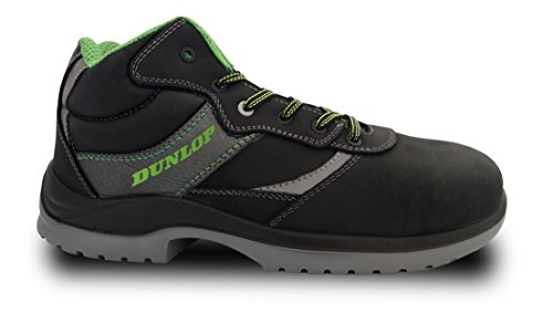 Dunlop First One High - Botas de protección laboral S3 SRC, color negro
