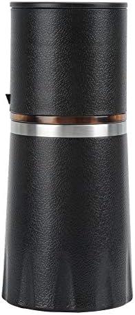 Macchina da caffè manuale nera, macinacaffè, per amanti del caffè