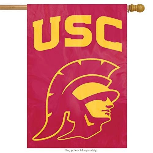 (Party Animal USC Trojans Applique Banner Flag Trojan)