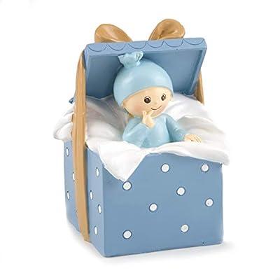 Mopec Figura de Pastel Hucha bebé Caja Regalo, Blanco Roto: Amazon ...