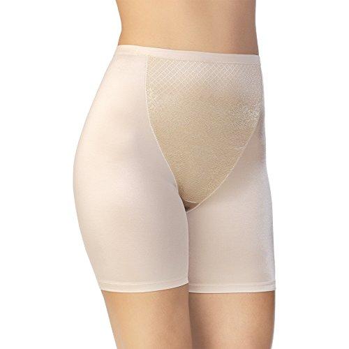 Vanity Fair Women's Smoothing Comfort Slip Short 12290, Damask Neutral, (Vanity Fair Shapewear)