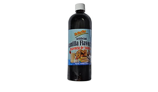 Esencia de Vainilla / Artificial Vanilla Flavoring 16 oz / 1 pack: Amazon.com: Grocery & Gourmet Food