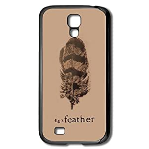 Galaxy S4 Cases Feather Design Hard Back Cover Cases Desgined By RRG2G by supermalls