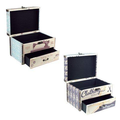 Weißer Box mit Set Schnittmuster. Boxen Mehrzweck. (sortiert ...
