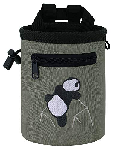 Rock Climbing Chalk Bag - AMC Chalk Bag & Belt for Rock Climbing Addicts - Gifts for Dad for Fathers Day
