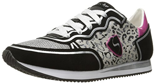 Skechers Originali Womens Retros Og 98 Classy Kick Fashion Sneaker Black / Leopard