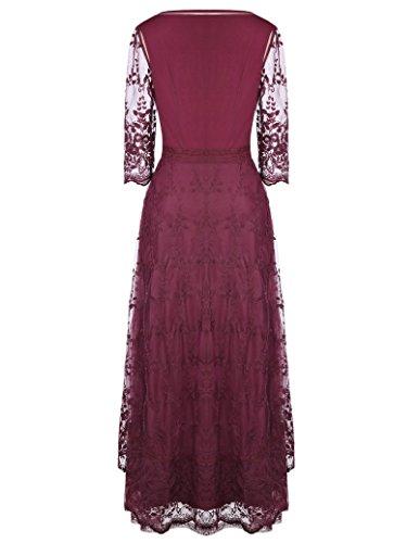 1 Belle Poque Corsagenkleid Gothic Steampunk Kleid Bp318 Schwarz Damen Kleid Lang OvO1rqx