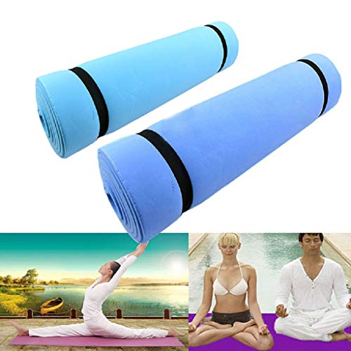 Yuxiale 1PC New Dampproof Eco-Friendly Sleeping Mattress Mat Exercise EVA Foam Yoga Pad