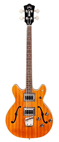 Guild Starfire Bass II Guitar with Case (Natural) -  3792410850