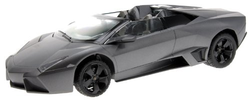 Scale: 1:14 Lamborghini Reventon Roadster Radio Remote Control Model Sports Car R/C RTR (Color Gray) - Lamborghini Reventon Model Car