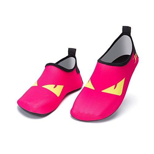 Aire Al Nadando Piel Corriente Rojos Vadeo Contra De Playa Natación La Cuidado Libre Ojos Pareja Zapatos 1945 Yoga Eq1CtAxwp