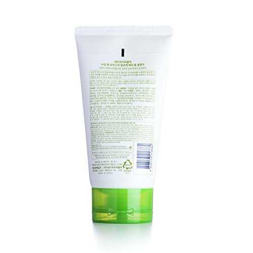 Nature-Republic-Soothing-Moisture-Aloe-Vera-Foam-Cleanser-180-Gram