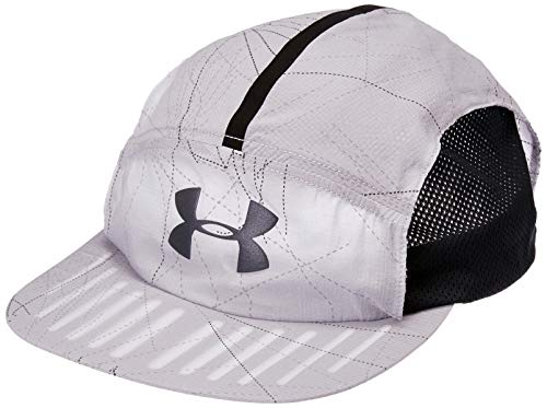 Under Armour Men's Packable Run Cap, Mod Gray//Black, One Size Fits All