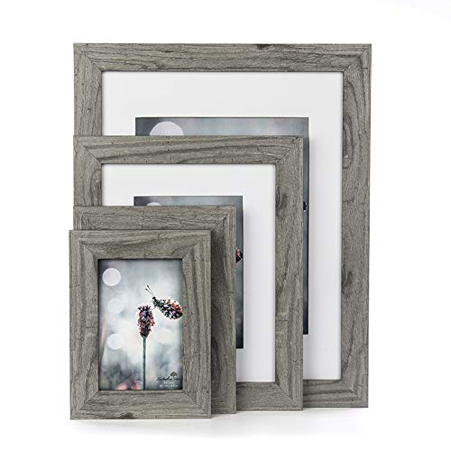 Scholartree Wooden Photo Picture Frame 5x7 3P 8x10 2P 11x14 2P (Style 2, 5x7 inches 3P) by Scholartree (Image #7)