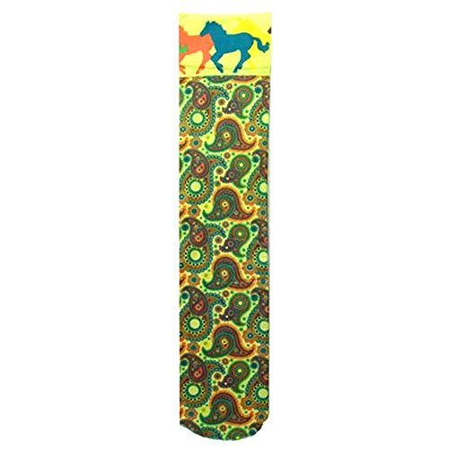 Exclusive Horse Theme Socks Classic Paisley kQHZ8icbu