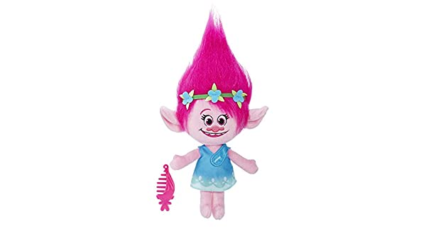 TROLLS - DreamWorks Poppy Parlanchina (Hasbro B77720000): Amazon ...