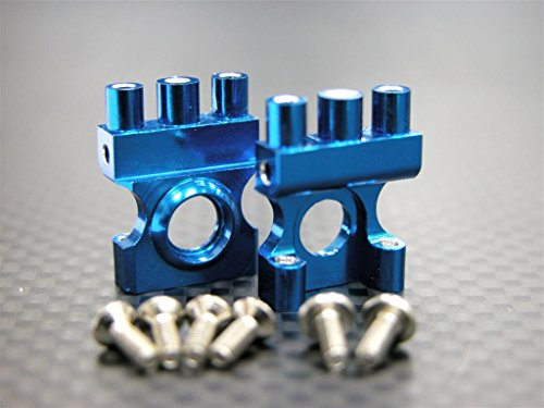 XMods Generation 1 Upgrade Parts Aluminum Front Gear Box With Screws - 1Pr Set Blue