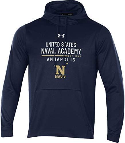 Sudadera con capucha azul marino de la Academia Naval de los Estados Unidos de los Estados Unidos