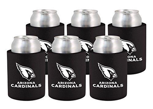 Kolder Licensed Inc. NFL Arizona Cardinals Phoozie Set, 6-Pack, (Arizona Cardinals Nfl Set)