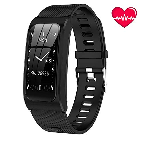 BAIZE Fitness Tracker HR, Activity Tracker Watch with Heart Rate Monitor, Waterproof Smart Watch with Sleep Monitor, Step Counter, Calorie Counter, Pedometer Watch for Men Women and Kids
