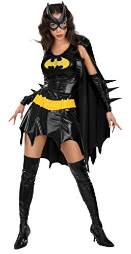 Lady Justice Halloween Costume (Secret Wishes Women's DC Comics Deluxe Batgirl Costume, As Shown,)