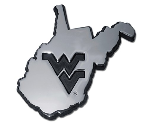 - West Virginia University (WV Shape) Emblem