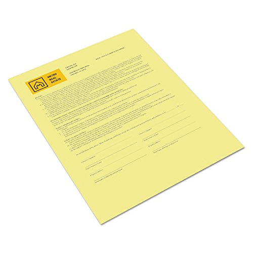 (Xerox 3R12437 Revolution Digital Carbonless Paper, 8 1/2 x 11, Canary, 500 Sheets per Ream)
