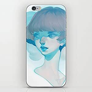 Bnaytree visage - blue Hard Case Protective Shell Cell Phone Cover Case For iPhone 6 Plus
