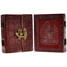 Buddha Leather Embossed Journal Diary Clasp Closure by Raven Blackwood