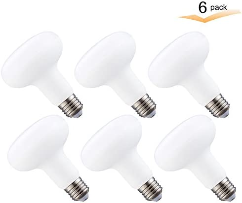 6 Pack Kitchen 1320 Lumens 2700K Warm White,Non-Dimmable Indoor//Outdoor Recessed Lights for Bathroom R30 LED Flood Light Bulb,12W LED Bulbs,100W Halogen Equivalent,E26 Meium Base Dining-Room