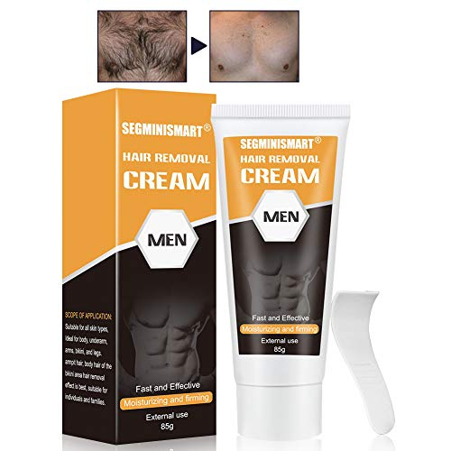 Hair Removal Cream, Premium Depilatory Cream, Body Hair Removal Cream, Used on Legs & Body Part Skin Friendly Painless Flawless Hair Remover Cream for Women and Men (Revitol Men Hair Removal Cream)