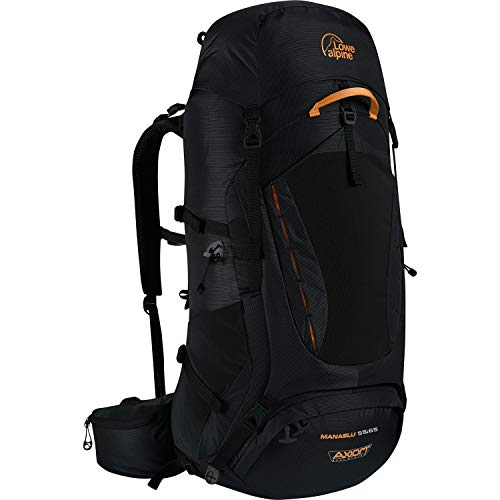 (Lowe Alpine Manaslu 55:65 Backpack - Black Large)