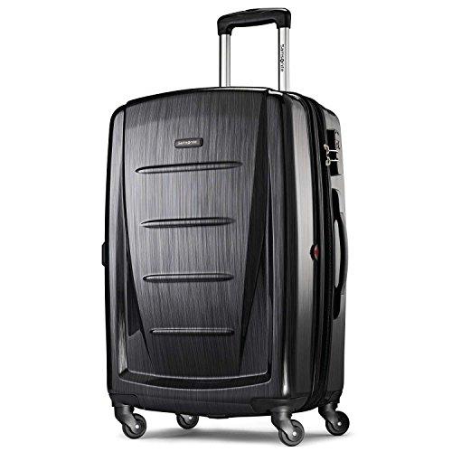 Samsonite Winfield 2 Hardside 24' Luggage, Brushed Anthracite
