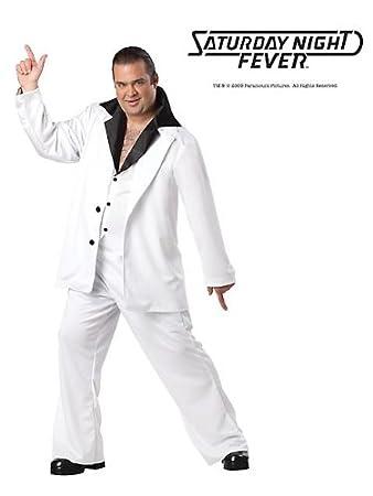 Mens Deluxe Plus Size Saturday Night Fever Costume