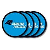 NFL Carolina Panthers Vinyl Coaster Set (Pack of 4)