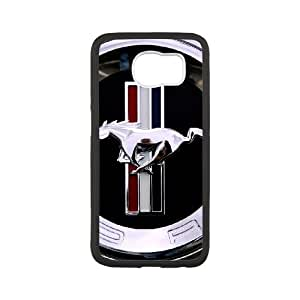 Mustang Samsung Galaxy S6 Cell Phone Case White Special gift AJ84P7P8