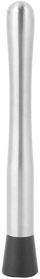 Drink Muddler Practical Stainless Steel Pestle Cocktail Muddler Durable Ice Muddler Hammer Beverage Blender