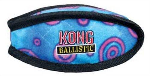 KONG Ballistic Football Dog Toy, Large, Assorted, My Pet Supplies