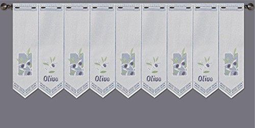 SORAU FASHION Scheibengardine Jacquard grafisch 70 cm hoch   Breite der Gardine durch gekaufte Menge in 30 cm Schritten wählbar