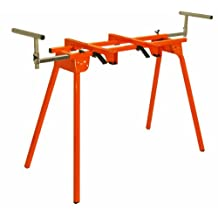 Portamate HTC PM-4000 Folding Miter Saw Stand, Quick Attach Mount 13-Inch Material Support