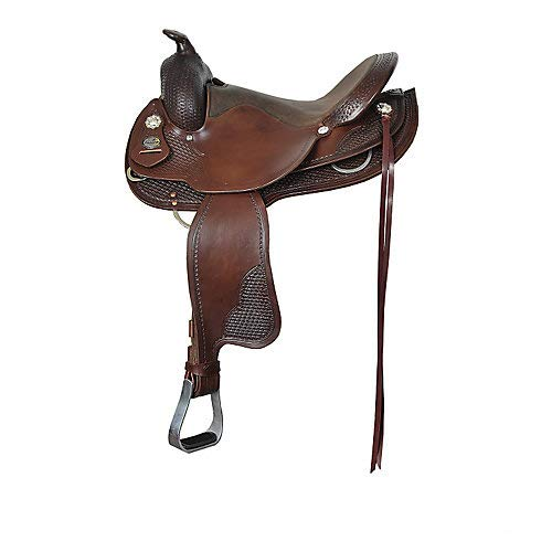 Fabtron Supreme Round Skirt Trail Saddle 15in Ches