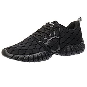 Aleader Women's Lightweight Mesh Sport Running Shoes Carbon Black 7 D(M) US