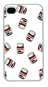 iPhone 4 4s Cases & Covers - Chocolate Sauce Custom PC Soft Case Cover Protector for iPhone 4 4s - White